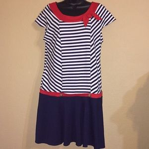 Plus size girls  Sailor Dress